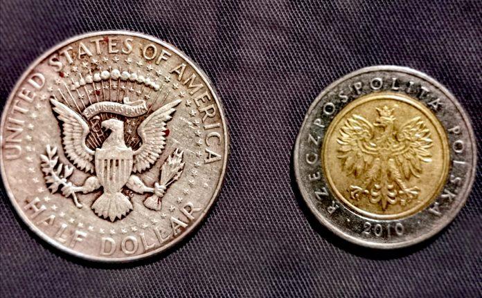 Dollar, złotówka